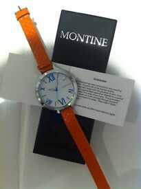 montine ladies designer watch