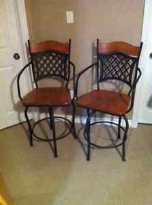High quality bar stools (2)