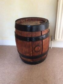 Restored Oak Beer Barrell