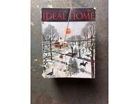 Old .... Ideal home magazines