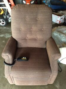Electric Lift Brown Chair