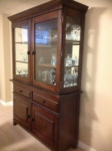 Ashley Furniture Larchmont Buffet & Hutch