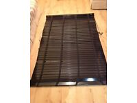Black Venetian blind complete with fixings - Excellent condition