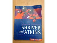 Inorganic Chemistry - Shriver and Atkins - 3rd Edition - fREE delivery to University of Surrey/SSP