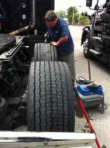 Tire Regrooving.Heavytruck to Motorsport.Mobile Service
