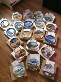 Wedgwood plates assorted