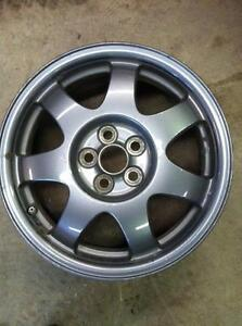 "4 - Prius 16"" OEM Alloy Rims with Covers and Sensors (5X100)"