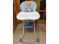 Boys high chair