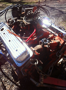 Chevy 350 TBI engine 1989