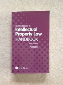 Butterworths Intellectual Property (IP) Law Handbook 10th (Tenth) Edition - VGC - Collect Guildford