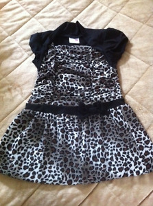 Girls Shoes size 10 and a Dress size T4