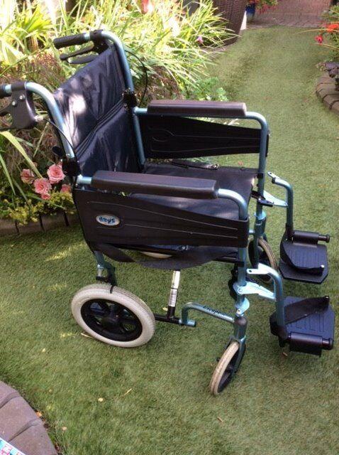 Bargain Nearly New Folding Lite Wheelchair
