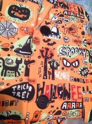 U Look Ugly Today HALLOWEEN print 2 piece MENS jacket pant suit blazer costume M - Today Costumes