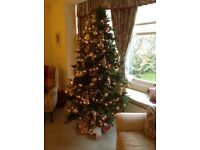 Beautiful White Company Artificial Christmas Tree 7ft