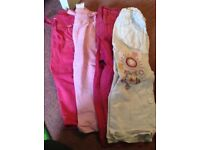 Girls trousers 18-24 months