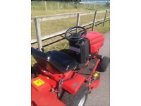 Westwood S1300 Ride on Mower, complete with grass collector and leaf sweeper