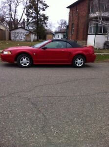 1999 Ford Mustang Leather seats Convertible