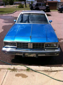 1984 cutlass supreme 4dr