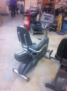 Used commercial life fitness recumbent programmable bike