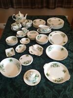 Royal Albert Trillium China - Excellent Condition - 69 Piece Set