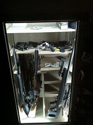 UNIVERSAL gun safe LED light KIT - - multi shelf light kit - DIY easy to install