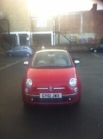 FIAT 500 LOUNGE TWIN-AIR .9. RED