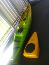 Perception Swing Kayak with storage box Anna Bay Port Stephens Area Preview