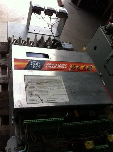 GENERAL ELECTRIC 30 HP. ADJUSTABLE SPEED DRIVE 7VPFS046CD01