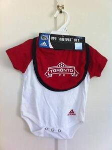 Adidas 3 pieces onesie set, 0-3 months Carina Brisbane South East Preview