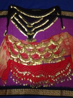 BELLY DANCE COSTUME ITEMS