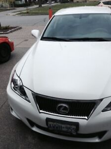 2012 Lexus IS250 PEARL WHITE LOW KMS