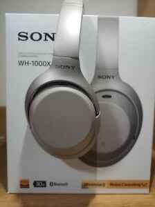 Sony WH-1000XM3 noise cancelling headphones