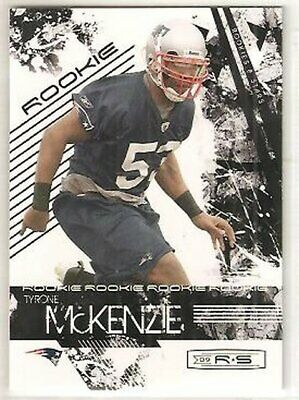 Tyrone McKenzie Patriots South Florida 2009 Donruss Rookies & Stars RC (Tyrone Florida)