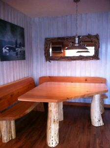 Quality hand made real wood tables lcoally crafted Comox / Courtenay / Cumberland Comox Valley Area image 1