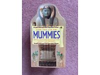 Reduced - Egyptian Mummy toy - nearly new condition - plus free Egyptian jigsaw (5-10 years)