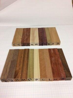 Assorted Wood Pen Blanks