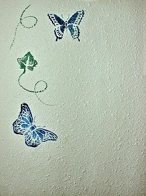 There are many different designs for wall stencils