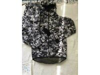 Fashion men camo tracksuit size small