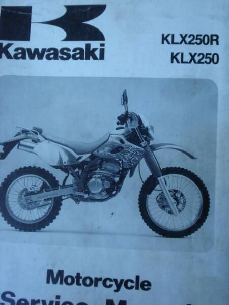 ... Array - kawasaki klx250 r motorcycle workshop service manual c1993 rh  gumtree ... 8ad64a629e1d