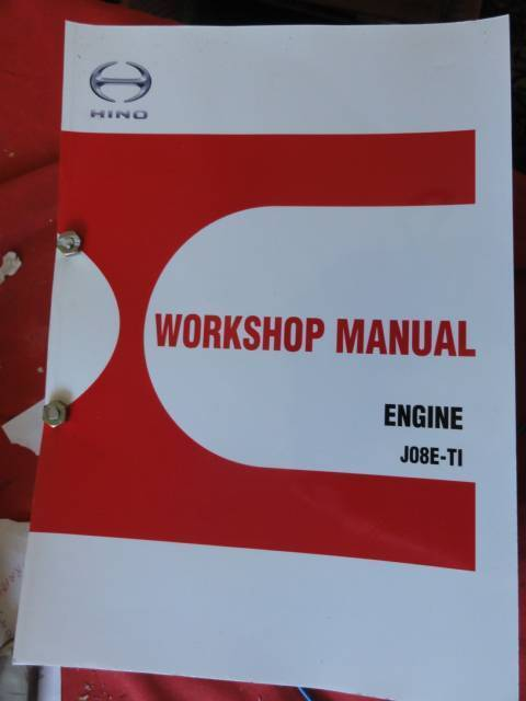 hino bus workshop manual ebook
