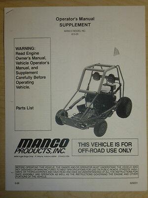 Manco Go Kart Parts Diagram - Wiring Diagram Data NL