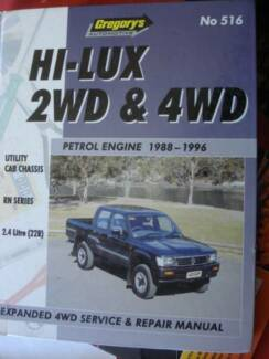 2003 hilux 2wd repair manual product user guide instruction u2022 rh testdpc co Toyota Hilux Surf 1999 Toyota Hilux Pick Up