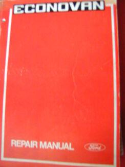 ford econovan workshop service manual suplement c1981 engine rh gumtree com au