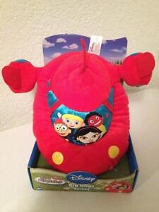 NEW DISNEY LITTLE EINSTEINS BABY PLUSH BIG HUGS ROCKET TOY RED STUFFED SOFT NIB