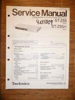 Manual De Servicio Para Technics St-z55 Sintonizador, Original -  - ebay.es