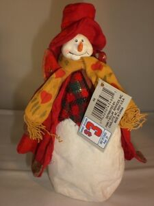 Poseable-Christmas-Snowman-Figure-Holiday-Home-Decor-Case-of-8-Great-for-Resale