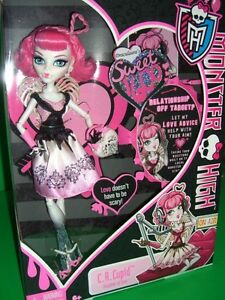Monster High Ebay >> Monster High C.A. CUPID SWEET 1600 FIRST EDITION VALENTINE ...