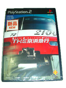 Playstation-2-PS2-Import-Japan-Game-Train-Simulator-Real-Keihin-Keikyu-New