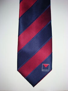 AFL MELBOURNE DEMONS football club BUSINESS NECK TIE - BRAND NEW