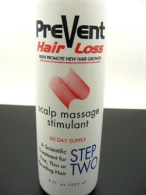 Prevent Hair Loss Growth Stimulant Scalp Massage Shine/fullness 60 Day Supply